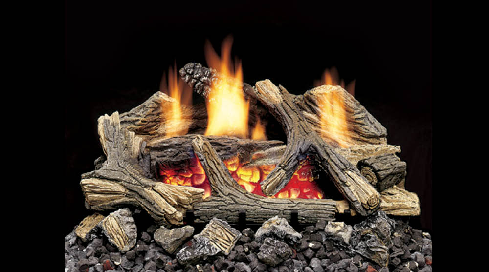 Home Hearth Vent Free Gas Logs