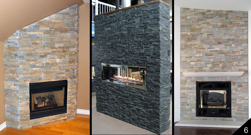 Real Stone Fireplaces Home & Hearth  Fireplace Surrounds