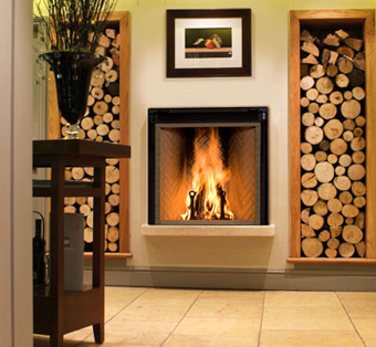 Home Amp Hearth High Effeciency Wood Fireplaces