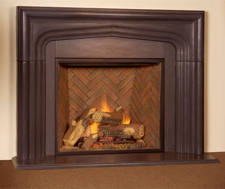Home hearth gas fireplaces for Country home and hearth