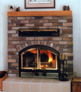 wilkening high efficiency wood fireplace s